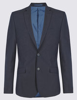 Marks And Spencer Navy Superslim Suit