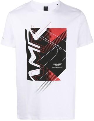 Hackett Aston Martin Racing cotton T-shirt