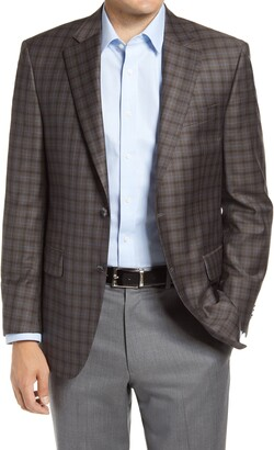 Peter Millar Flynn Check Wool Sport Coat