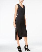 Armani Exchange High-Low Midi Dress