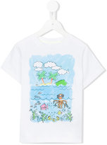 Stella McCartney Arlo Island print T-shirt - kids - Cotton - 8 yrs