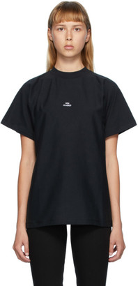 Won Hundred Black Brooklyn Logo T-Shirt