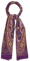 Etro Paisley Printed Wool-Blend Scarf
