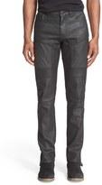 Belstaff Men's 'Easington' Slim Straight Coated Moto Jeans