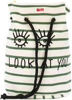 Rykiel Enfant - Look At You shoulder bag - kids - Cotton - One Size