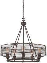 Eurofase Terra Collection 5-Light Bronze Chandelier