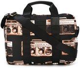 Paul Smith 'Boom Box' print briefcase