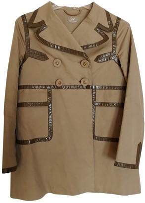 Anya Hindmarch Camel Cotton Jackets