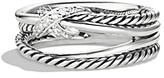 Thumbnail for your product : David Yurman X Collection Ring with Diamonds