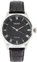 Seiko SRPA97 Silver-Tone & Black Watch