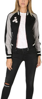 Elizabeth and James Willa Embroidered Reversible Bomber