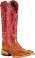 Ariat Women's Vaquera Caiman Cowgirl Boot
