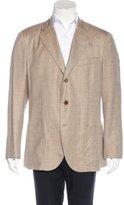 Loro Piana Wool-Blend Plaid Sport Coat