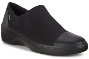Ecco Women's Soft 7 Wedge Gtx Waterproof Slip-Ons Women's Shoes