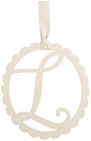 Mud Pie Scalloped Initial Wall Hanger - L