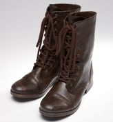AEO Lace-Up Moto Boots