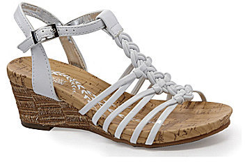 Kenneth Cole Reaction Girls' Swirl Up Wedge Sandals