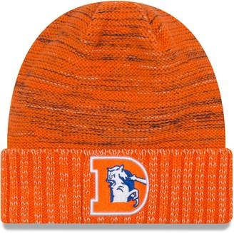 New Era Youth Orange Denver Broncos 2017 Color Rush Official Knit Hat