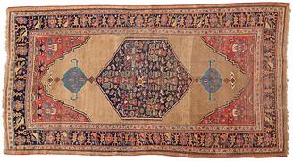 """One Kings Lane Vintage Antique Persian Bidjar Rug 5'5"""" x 10'3'' - Apadana - beige/brown/red"""