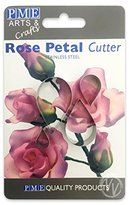 P.M.E. Metal Cutters, Rose Flower, 4-Pack