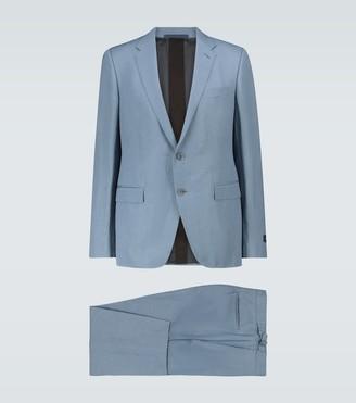 Ermenegildo Zegna Wool and linen-blend suit