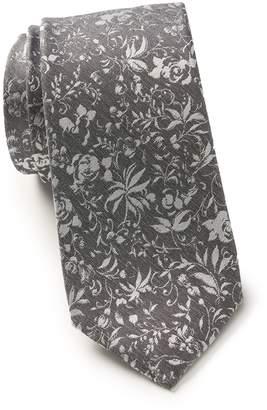 Ben Sherman Matthew Floral Silk Tie