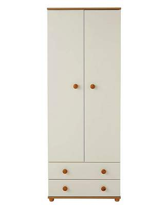Marisota Aspen 2 Door 2 Drawer Wardrobe