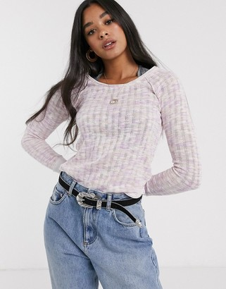 Free People spaced out long sleeve