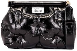 Maison Margiela Glam Slam Shoulder Bag in Black | FWRD