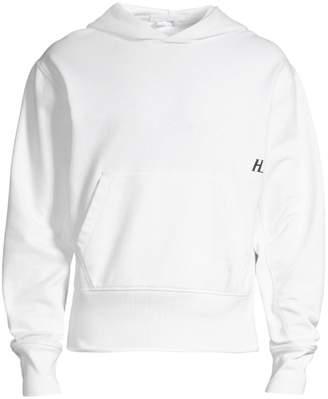 Helmut Lang Standard Logo Pullover Hoodie