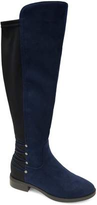 Expression Zoee Two-Tone Knee-High Boots