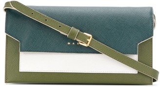Marni Bellows shoulder strap wallet