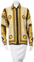 Versace Baroque Silk Top