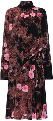 Dries Van Noten Floral silk dress