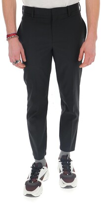 Neil Barrett Tapered Cropped Chinos