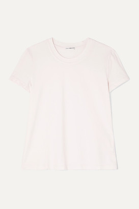 James Perse Vintage Boy Slub Cotton-jersey T-shirt - Pastel pink