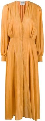 Forte Forte Pleated Midi Dress