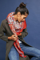 Anthropologie Paisley Square Scarf