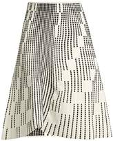 Roland Mouret Wilson textured-knit skirt
