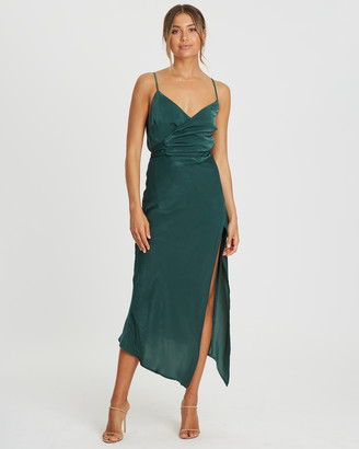 Tussah Eleanor Wrap Dress