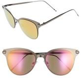 BP Women's Mirrored Sunglasses - Hem/ Purple