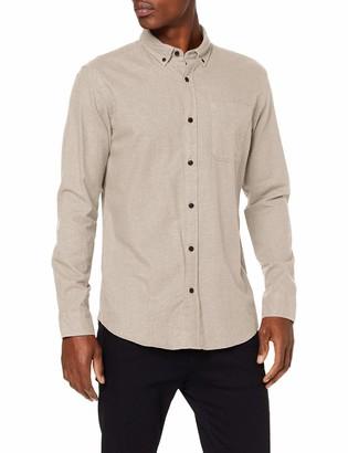 Jack and Jones Men's Jjemelange Shirt L/s Noos Casual