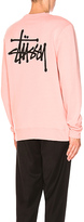 Stussy Basic Crew in Pink. - size XL (also in )