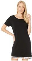 Moschino Underbear Maxi T-Shirt (Black) Women's Clothing