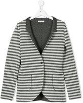 Elsy metallic striped blazer