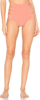 Tori Praver Swimwear Vera Bottom in Coral. - size XS (also in )