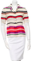 Derek Lam 10 Crosby Wool & Silk-Blend Top