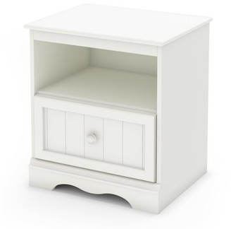 South Shore Savannah 1-Drawer Nightstand, Multiple Finishes