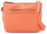 Fossil Tessa Zip Top Leather Crossbody