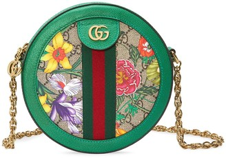 Gucci Ophidia GG Flora mini shoulder bag
